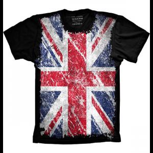 Camiseta Bandeira Da Inglaterra