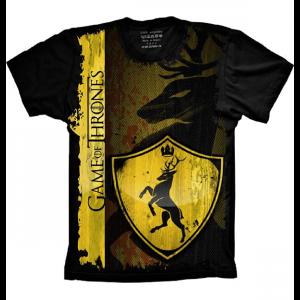 Camiseta Game Of Thrones Casa Westeros