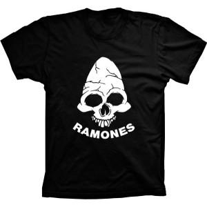 Camiseta Ramones Caveira