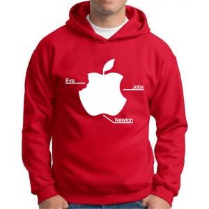 Moletom Maça Apple Eva, Jobs e Newton