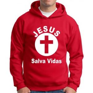 Moletom Jesus Salva Vidas