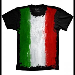 Camiseta Bandeira Da Italia