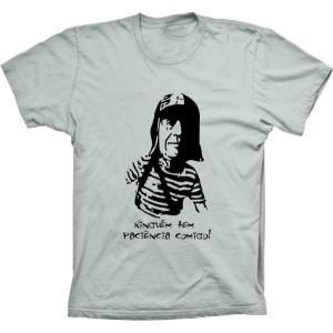 Camiseta Chaves Ninguém Tem Paciência