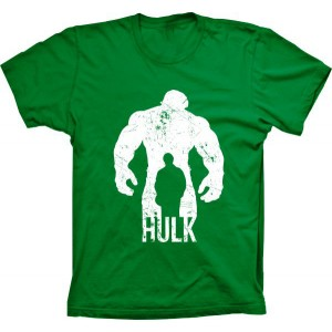 Camiseta Hulk Silhueta