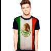 Camiseta Bandeira Do México