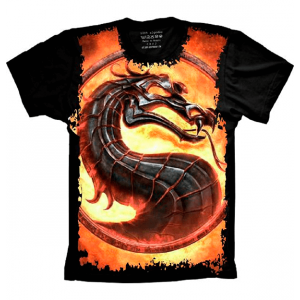 Camiseta Mortal Kombat Dragon