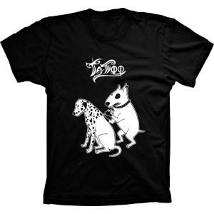Camiseta Cachorro Tatuagem