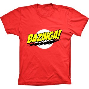 Camiseta The Big Bang Theory Bazinga