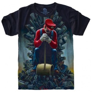 Camiseta Super Mario Game Of Thrones