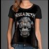 Camiseta Megadeth Vic Rattlehead Dystopia