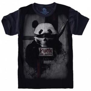 Camiseta Panda Anarquista