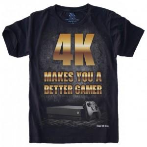 4K TE FAZ UM JOGADOR MELHOR Xbox Mil Grau MG11