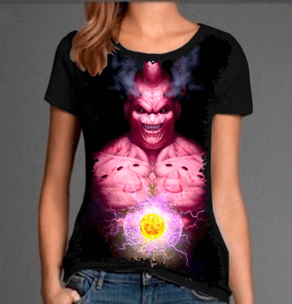 Camiseta Dragon Ball Z Majin Boo