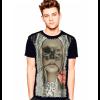 Camiseta Skull Caveira Mulher Mouth