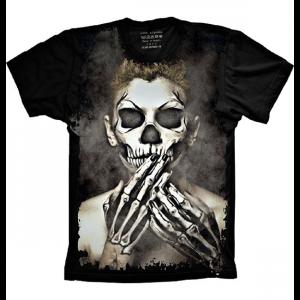 Camiseta Skull Caveira Mexicana Homem