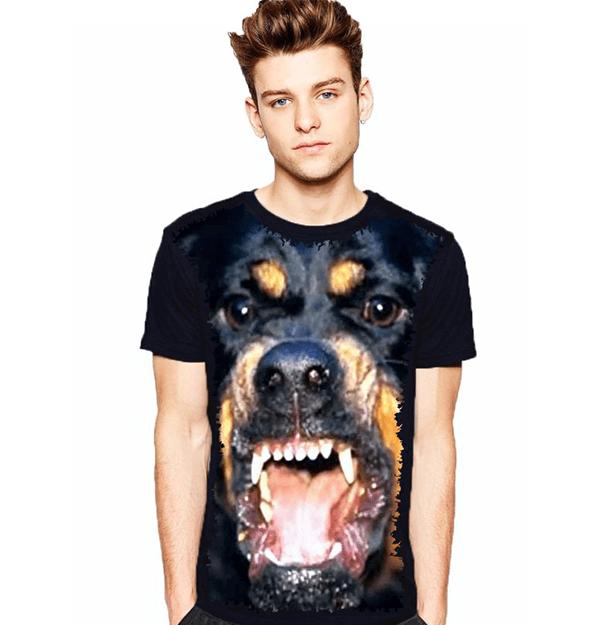 Camiseta Rottweiler Bravo
