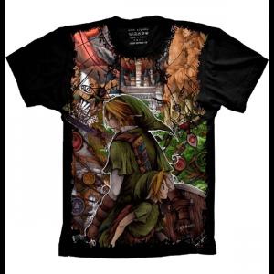 Camiseta The Legend of Zelda Link