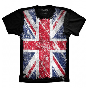 Camiseta Bandeira da Inglaterra Tamanho Feminina GG [Última Peça - Liquidação]