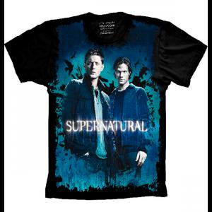 Camiseta Supernatural Dean e Sam