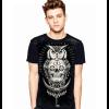 Camiseta Skull Caveira Mexicana Coruja