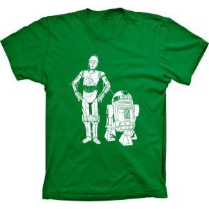 Camiseta Star Wars C3PO R2D2