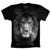 Camiseta Leão Negro