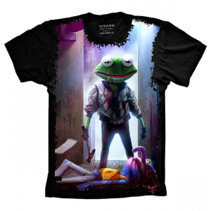 Camiseta Sapo Caco Bad