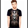Camiseta Skull Caveira Indian