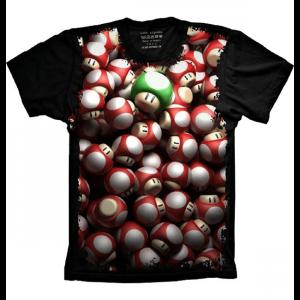 Camiseta Super Mario Grow Up 1Up