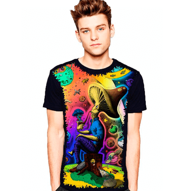 Camiseta Mushrooms Crazy