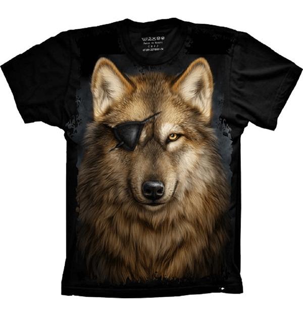 Camiseta Wolf Lobo