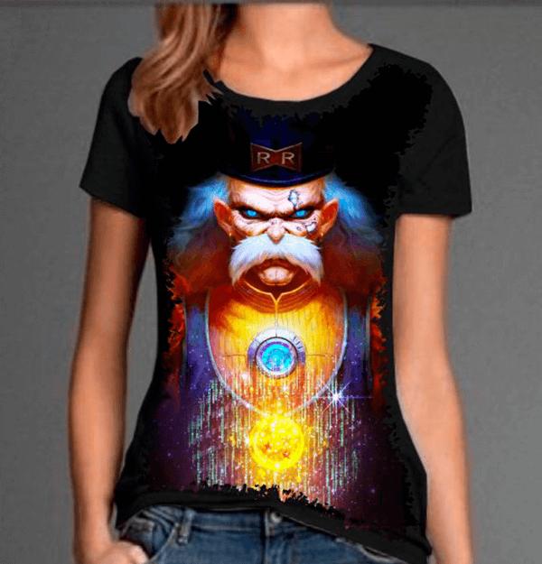 Camiseta Dragon Ball Z Dr. Gero Androide 20