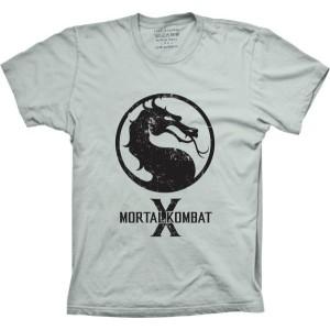 Camiseta Mortal Kombat Tamanho Feminino M [Última Peça - Liquidação]