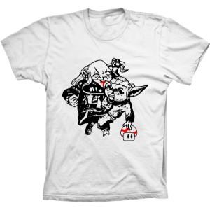 Camiseta Yoda X Mestre Dos Magos - Caverna do Dragão