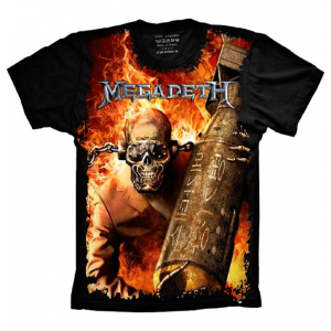 Camiseta Megadeth Vic Rattlehead