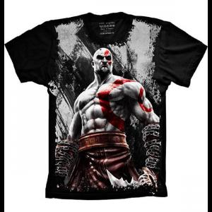 Camiseta God Of War Kratos