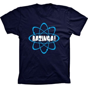 Camiseta Bazinga Átomo The Big Bang Theory
