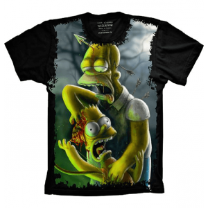 Simpsons Homer Bart Zumbis