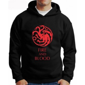 Moletom Game Of Thrones Fire And Blood
